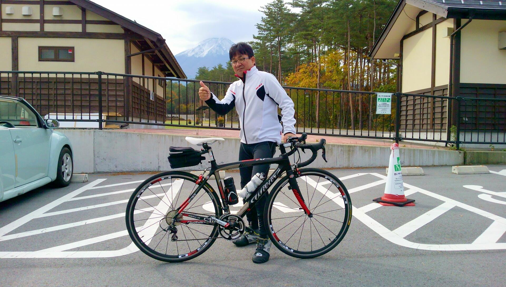 富士山ヒルクライム・アスケン!Mt.富士ヒルクライムと同じコース走りました! 11月3日 暑くて寒い日