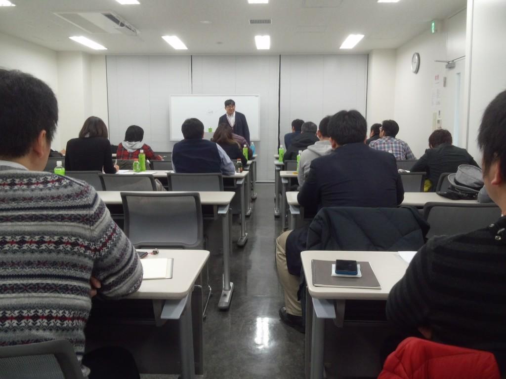 本日第一回目の「明日の実務経営意匠研究会(アスケン)」 東京人形町