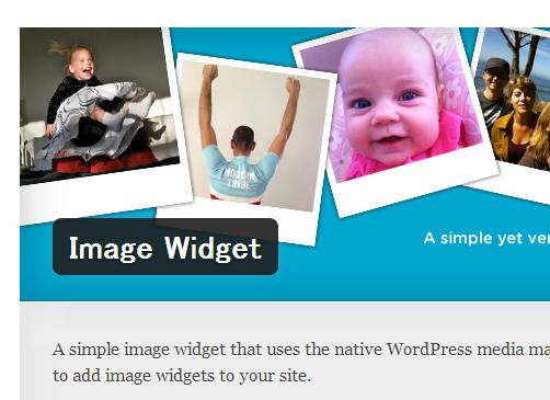 wordpressのサイドバーにこのプラグインを入れると簡単に画像リンクがつくれますよ!