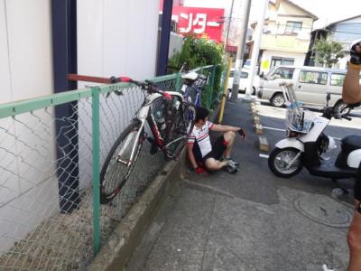 ロードバイク 休憩