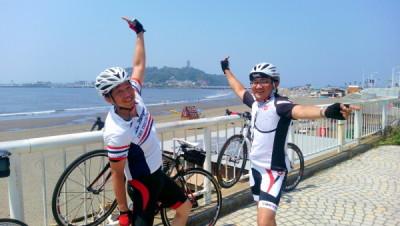 ロードバイクin江ノ島 宍戸