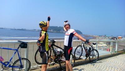 ロードバイクin江ノ島