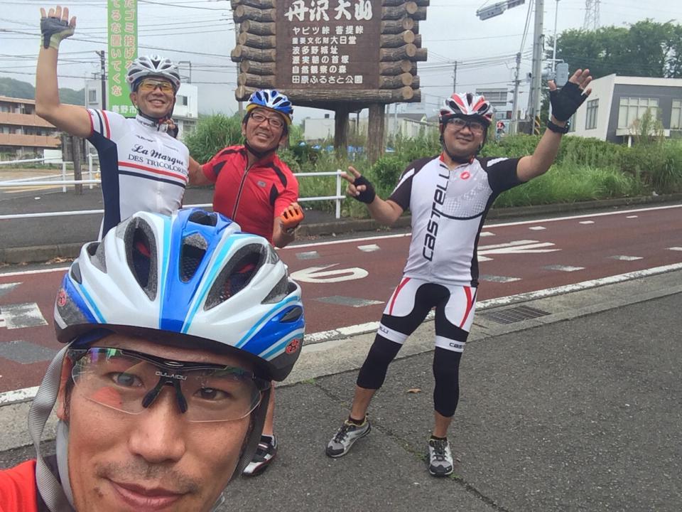 アスケンRIDE ヤビツ峠 2014.08.17  ゴリがアスケンロードバイク研究部会部長に!