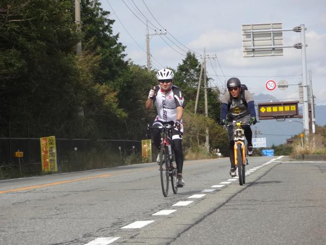 ロードバイクツーリング・・・あー嬉しい!富士山の世界遺産登録記念にちなんで計画していた「富士山一周」はこうなった!・・・2013.09.30